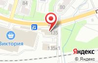 Схема проезда до компании Промышленные Аккумуляторы в Калининграде