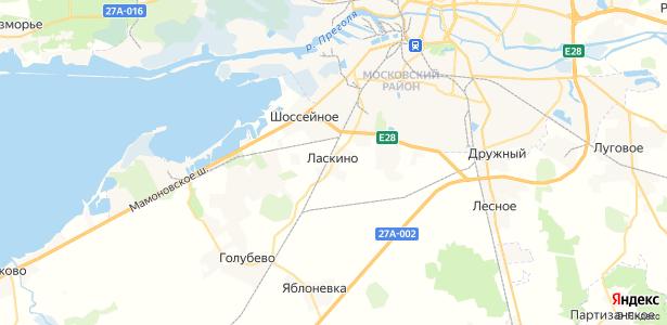 Ласкино на карте