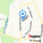 Валентина на карте Калининграда