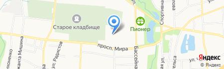 Арт мебель на карте Калининграда