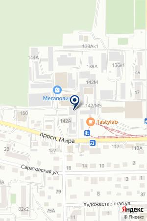 МЕБЕЛЬНАЯ ФАБРИКА ХОРОШО на карте Калининграда