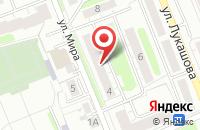 Схема проезда до компании Привилегия в Калининграде