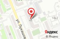 Схема проезда до компании Бион в Калининграде