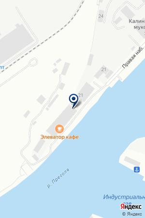 ПРОИЗВОДСТВЕННАЯ КОМПАНИЯ ПРОБА на карте Калининграда