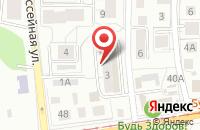 Схема проезда до компании МедТорг в Калининграде