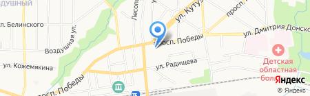 Новые окна на карте Калининграда