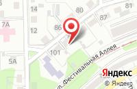 Схема проезда до компании Янтарь-Инфо в Калининграде