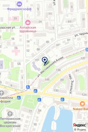 Студия камня на карте Калининграда