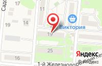 Схема проезда до компании Аверс-Строй в Зеленоградске