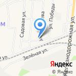 Рыбный магазин на карте Зеленоградска
