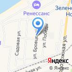 Продовольственный магазин на карте Зеленоградска