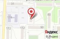 Схема проезда до компании Типаж в Калининграде