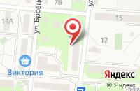 Схема проезда до компании Почтовое отделение в Зеленоградске