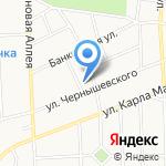 Время чая на карте Калининграда