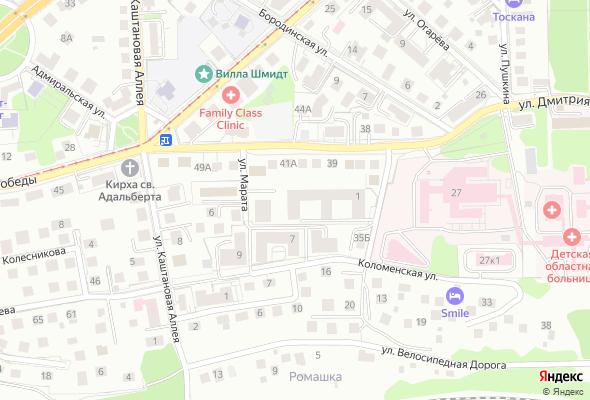 купить квартиру в ЖК по ул. Марата