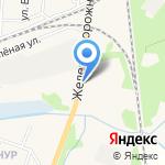 Мега-Экспресс на карте Зеленоградска