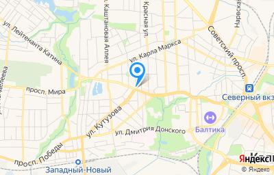Местоположение на карте пункта техосмотра по адресу г Калининград, пр-кт Мира, д 94