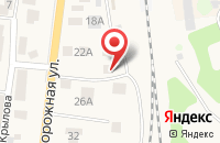 Схема проезда до компании Дюйм в Зеленоградске