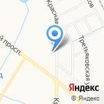 Эмфика на карте Калининграда