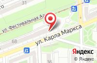 Схема проезда до компании Амд в Калининграде