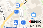Схема проезда до компании Новости 39 в Зеленоградске