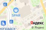 Схема проезда до компании Формула Здоровья в Зеленоградске