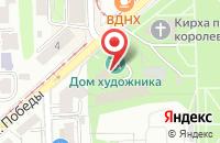 Схема проезда до компании Креатив Групп в Калининграде