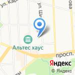 Военно-следственный отдел по Калининградскому гарнизону на карте Калининграда