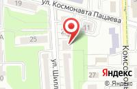 Схема проезда до компании Ада Металлварен в Калининграде