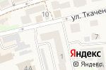 Схема проезда до компании Талантика в Зеленоградске