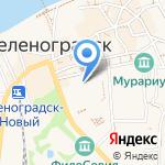 Платежный терминал на карте Зеленоградска