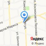 Кооператор на карте Калининграда