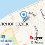 Мои документы на карте Зеленоградска