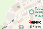 Схема проезда до компании Парус в Зеленоградске