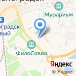 Шик & Блеск на карте Зеленоградска