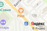 Схема проезда до компании МебельСити в Зеленоградске