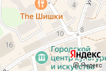 Схема проезда до компании Ларец в Зеленоградске