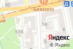Схема проезда до компании Дисконт в Калининграде
