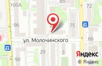 Схема проезда до компании Ринотех в Калининграде
