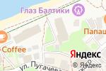 Схема проезда до компании Зеленоградск в Зеленоградске