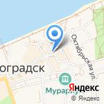 Пресса на карте Зеленоградска
