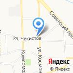 Наутилус на карте Калининграда