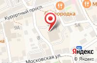Схема проезда до компании Калининградская областная коллегия адвокатов в Зеленоградске