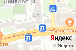 Схема проезда до компании Без табака в Калининграде