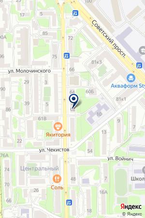 Калининградский центр правовой защиты на карте Калининграда