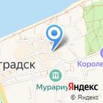 Единая Россия на карте Зеленоградска