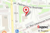 Схема проезда до компании Рожок в Калининграде