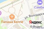 Схема проезда до компании Забава в Зеленоградске
