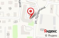 Схема проезда до компании GreenCity в Зеленоградске