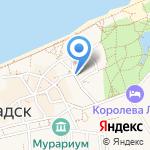 Отдел военного комиссариата Калининградской области по Зеленоградскому району на карте Зеленоградска